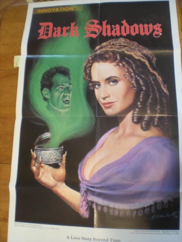 DARK SHADOWS Promo poster, 24 x 39, 1991, Unused, plus Comic issue #1 ,Vampire