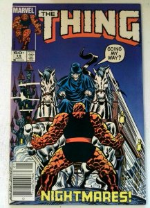 Thing #19 Marvel 1985 VF- Copper Age 1st Printing Comic Book
