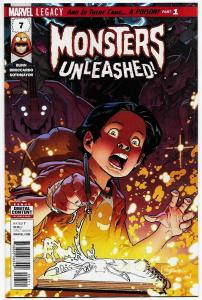 Monsters Unleashed #7 (Marvel, 2017) NM
