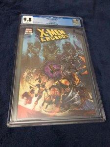 X-Men Legends #1 Coello Variant Cover CGC 9.8