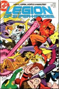 Legion of Super-Heroes (1984 series) #3, NM- (Stock photo)