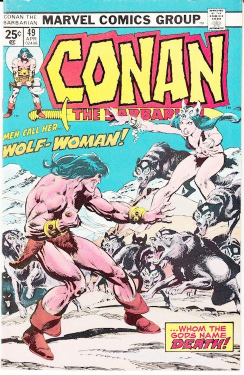 Conan the Barbarian lot of 3 #49, 50 & 52 VG+ to Fine-