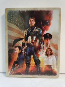 Captain America The First Avenger (Blu-ray) STEELBOOK