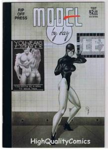 MODEL by DAY 2, NM-, Kevin Taylor, Rip Off Press, Indy, 1990, more KT in store