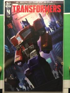 Transformers #4 A Bold New Era