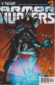 Armor Hunters #3 VF; Valiant   save on shipping - details inside