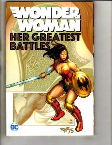 Wonder Woman Her Greatest Battles DC Comics TPB Graphic Novel Comic Book J340