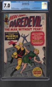 Daredevil #4 (1964) CGC Graded 7.0