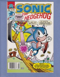 Sonic The Hedgehog #0 VF/NM Archie Comics 1993