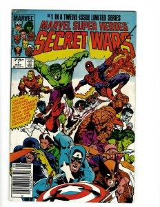 Marvel Super Heroes Secret Wars # 1 2 3 4 5 6 7 8 NM 9 10 11 12 Comic Series OF2