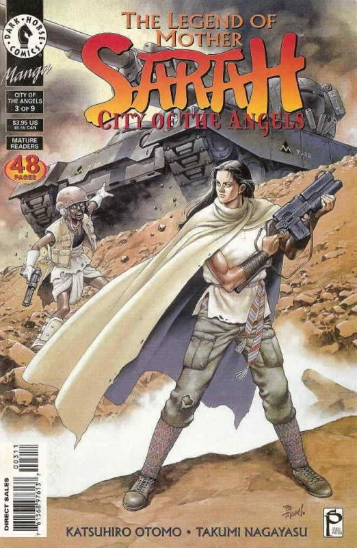 Legend of Mother Sarah, The: City of the Angels #3 VF/NM; Dark Horse | save on s