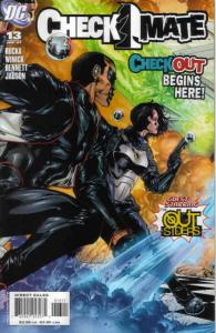 Checkmate (2nd Series) #13 VF; DC | save on shipping - details inside