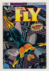 Fly (1991 Impact/DC) #1-17 VF-/NM Complete series