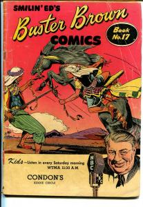 Buster Brown  #17 1940's-Arab cover-adventure-humor-VG-
