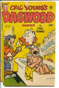 Dagwood #27 1953-Harvey-Chic Young-Blondie-Popeye-Little King-puzzle page-FR