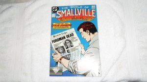 1988 DC COMICS THE WORLD OF SMALLVILLE # 2