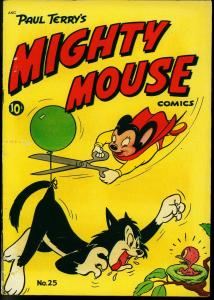 Mighty Mouse #25 1951- St John Golden Age- Paul Terry VG/F