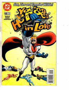 Lot Of 6 Young Heroes In Love DC Comic Books # 12 13 14 15 16 17 Batman CR8