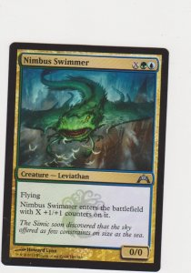 Magic the Gathering: Gatecrash - Nimbus Swimmer