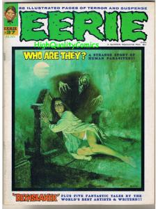 EERIE #37, VF, Warren, Horror, Family Curse, Death, more Mags in store