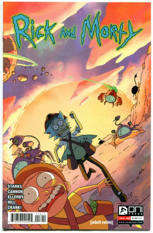 RICK and MORTY #18, 1st, NM, Grandpa, Oni Press, from Cartoon 2015,more in store