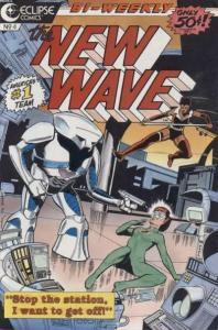 New Wave #4, VF+ (Stock photo)