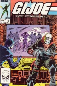 G.I. Joe: A Real American Hero (1982 series) #18, VF- (Stock photo)