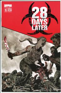 28 DAYS LATER 1, NM, Zombies, Horror, Walking Dead, 1st, 2009, more in store