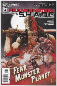 Frankenstein, Agent of SHADE   #  4 VF (New 52)