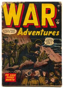 War Adventures #4 1952- Atlas Korean War comic- G
