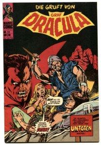 Tomb Of Dracula #31 1976- German comic book VF