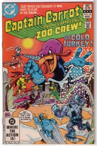 Captain Carrot and His Amazing Zoo Crew   #13 VG