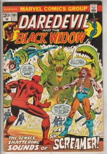 Daredevil #101 (Aug-73) NM- High-Grade Daredevil, Black Widow