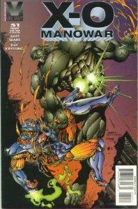 X-O Manowar (1992 series) #51, NM (Stock photo)
