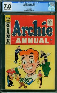 Archie Annual #12 (Archie, 1960-1961) Price Variant