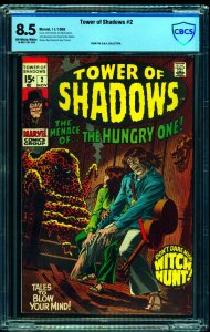 Tower of Shadows #2 CBCS VF+ 8.5 Off White to White