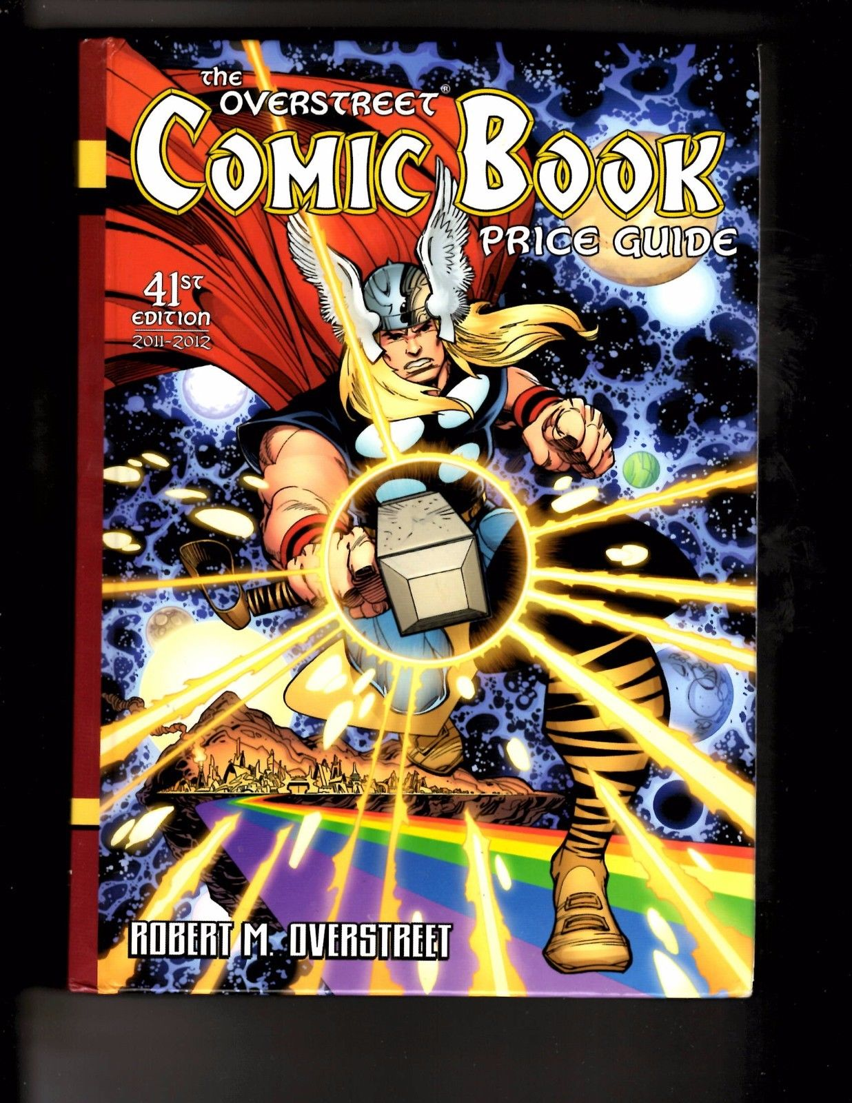 overstreet comic book price guide 41 hardcover nm thor cover 2011 rh hipcomic com Robert M. Overstreet Classic Illustrated Price Guide