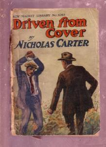 NEW MAGNET LIBRARY-#1083-DRIVEN FROM COVER-NICK CARTER FR