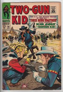 Two-Gun Kid #89 (Sep-67) FN/VF Mid-High-Grade Two-Gun Kid