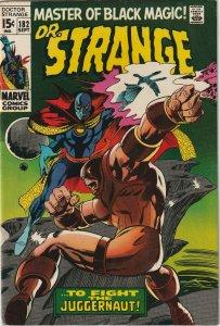 DR. Strange # 182 VF- Marvel 1968 Excellent Condition