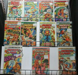 Fantastic Four (Marvel 1975) #158-173 Lot of 11Diff Xemu Galactus Inhumans