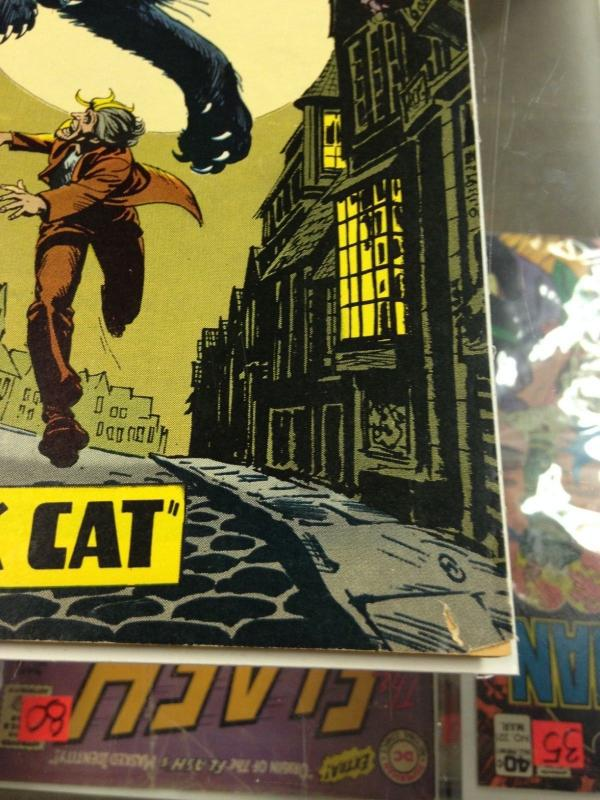 The Unexpected 144 VG/FN Nick Cardy Black Cat Cover  (Feb. 1973)