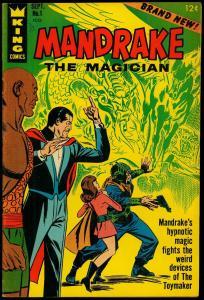 Mandrake The Magician #1 1966- The Phantom- King Comics FN+