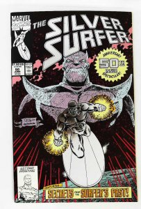 Silver Surfer (1987 series) #50, NM- (Actual scan)