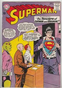 Superman #173 (Nov-64) VG/FN Mid-Grade Superman, Jimmy Olsen,Lois Lane, Perry...