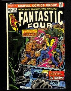 Fantastic Four #144 Doctor Doom!
