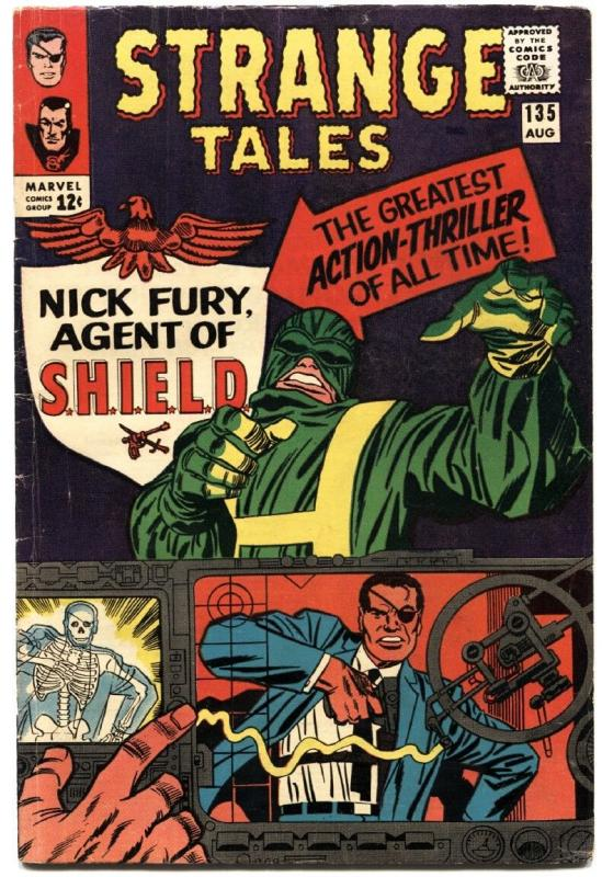 STRANGE TALES #135-FIRST NICK FURY-KEY-SILVER AGE-MARVEL