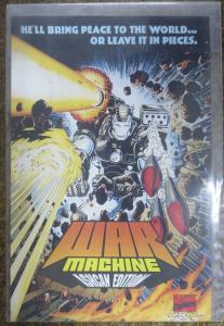 WAR MACHINE ASHCAN EDITION! (Marvel, 1994) VF/+Tom DeFalco, Lem Kominski