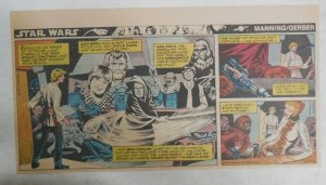 Star Wars Sunday Page #29 by Russ Manning from 9/23/1979 Third Full Page Size!