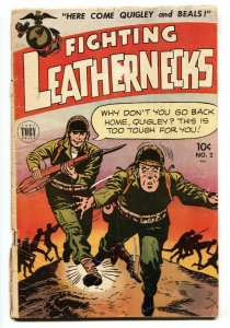 Fighting Leathernecks #2 1952- Pin ups- Golden Age War comic GGA